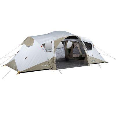 Tente Camping Tente 4 Places 2 Chambres Seconds 4 2xl Illumin Fresh Quechua Tentes Quechua Zelt Zelten Sport