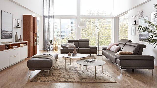 Interliving Garnitur 4251 Leder | Möbel von Interliving für den ...