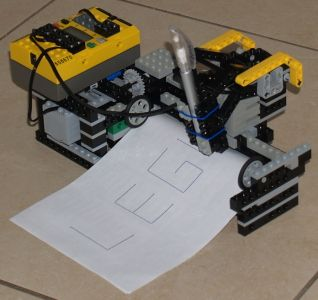 lego drawing machine mindstorms rcx plotter building instructions by spiller cnc basics. Black Bedroom Furniture Sets. Home Design Ideas