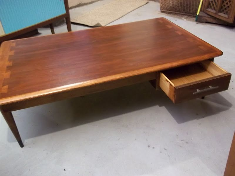 Lane Acclaim Coffee Table Rare With Drawer So Glad We Went