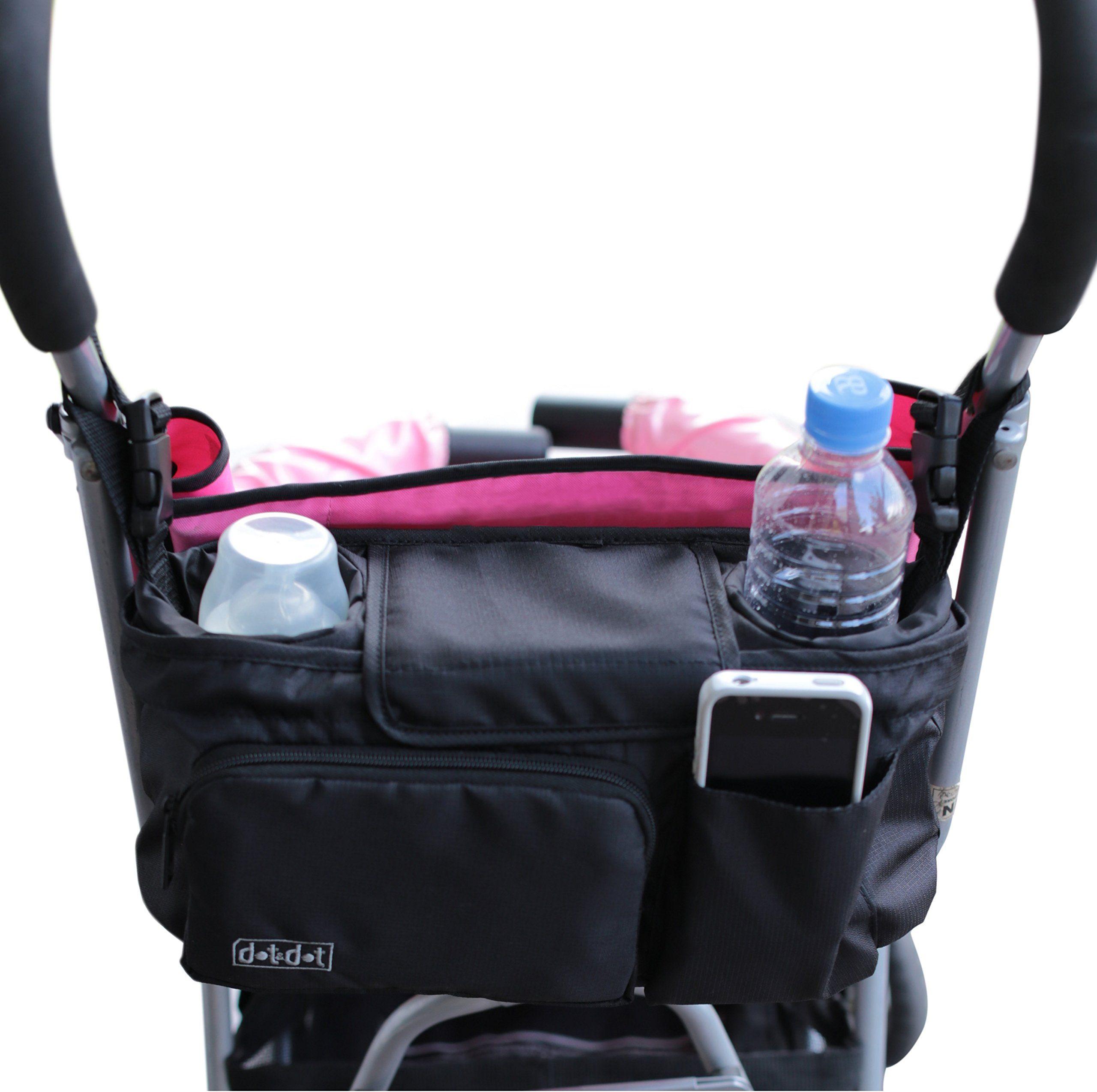 Stroller Organizer PLUS Hooks for Strollers