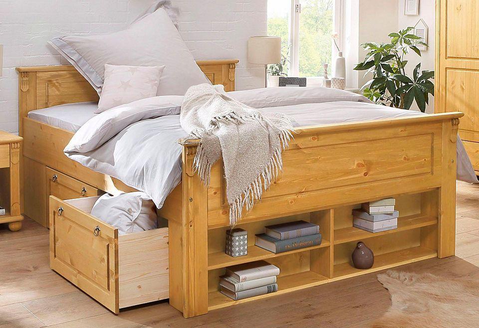 Bett »Serie Tessin« Jetzt bestellen unter   moebel - schlafzimmer kiefer massiv