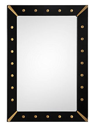 Favorite Finds: 10 Sleek and Chic Mirrors | Black framed mirror ...