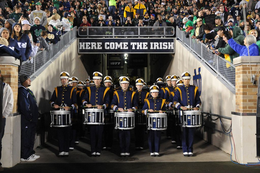 University Of Notre Dame Band With Images Notre Dame University Notre Dame University