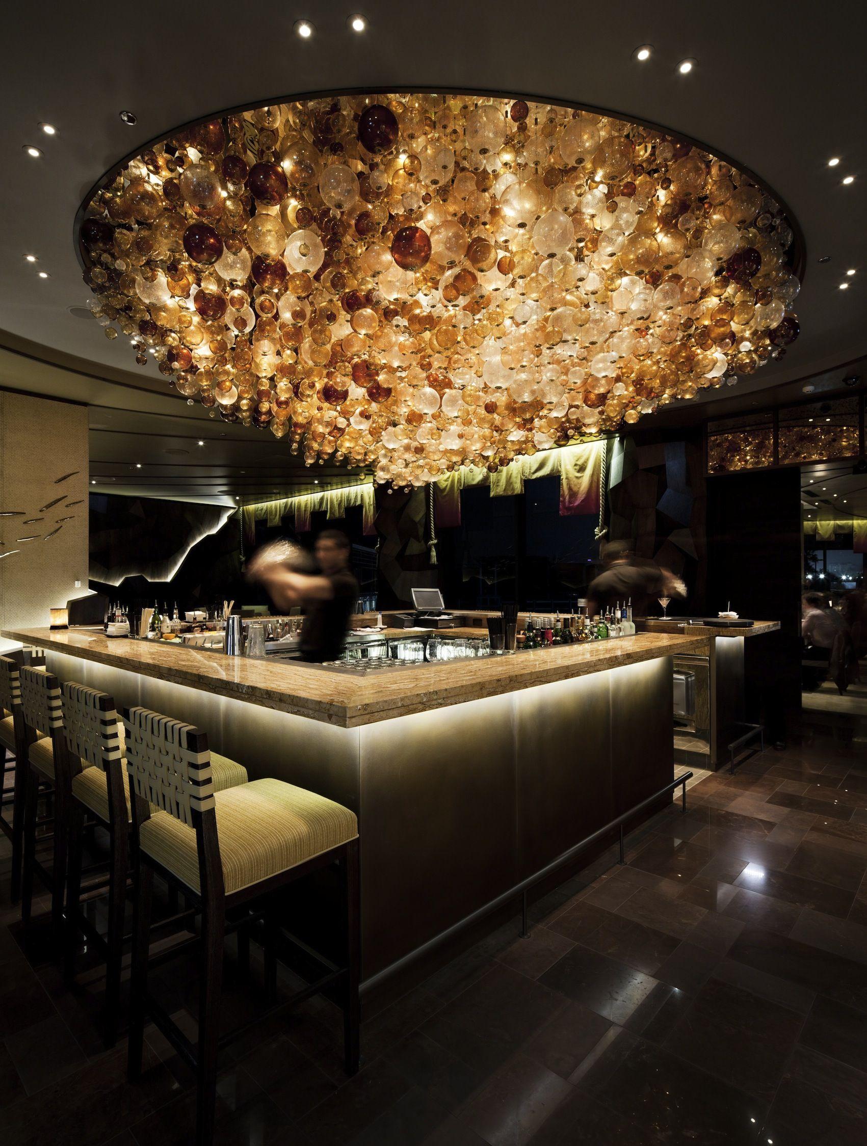 Nobu Restaurant Perth Australia Bar Club Design Bar