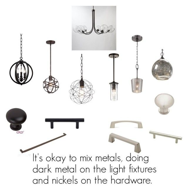"""Reid Kitchen Lighting and Hardware - Design Directions, LLC."" by jenniferstrickler on Polyvore"