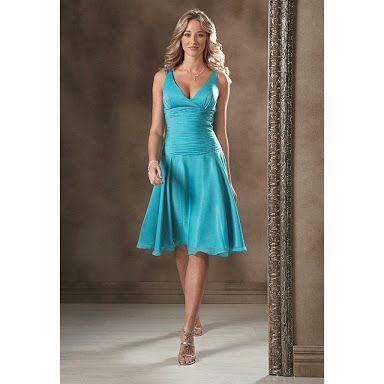 Gisele turquoise dress