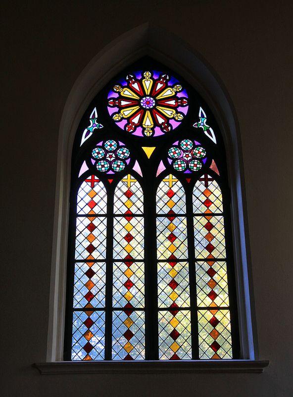 Kirchenfenster Gotik Malvorlage