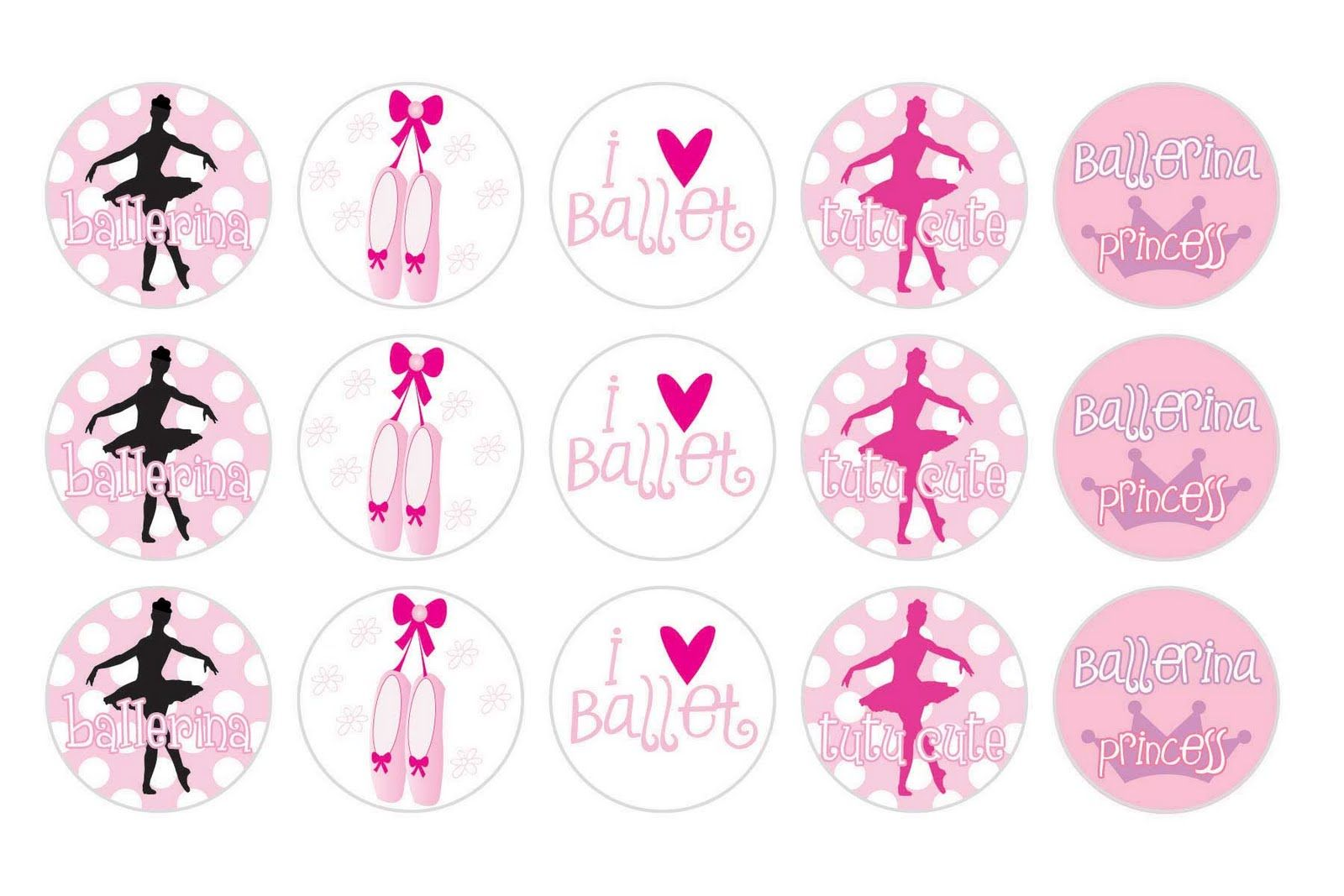 Uncategorized Ballerina Printables its a small www free printable ballerina bottle cap image design design