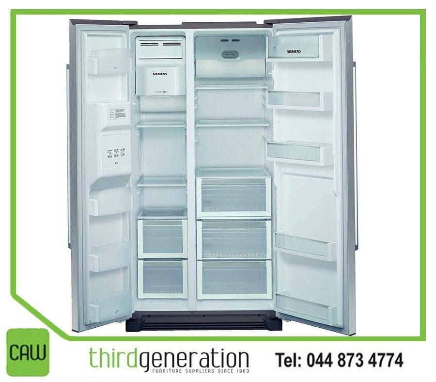 siemens side by get yourself this fridge freezer stainless steel door with nofrost ci36bp01 integrated