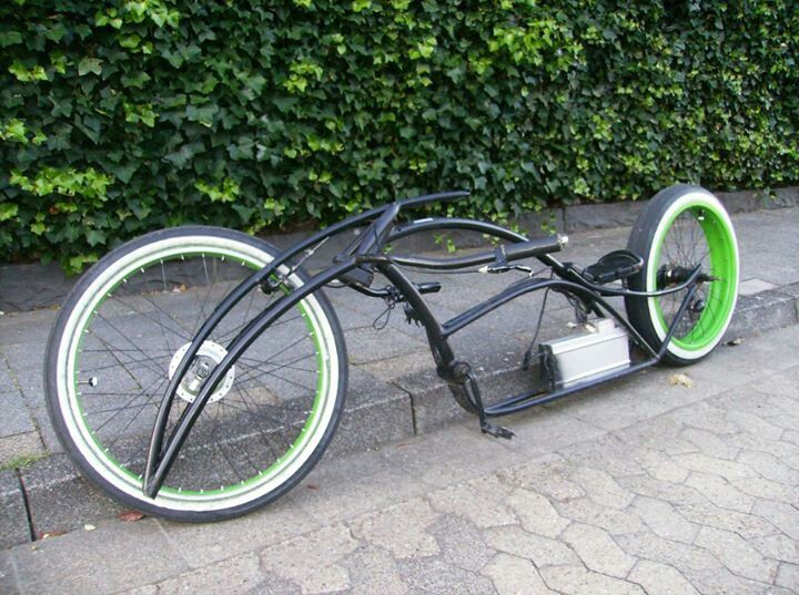 custom bicycle chopper bike conservative posts fahrrad. Black Bedroom Furniture Sets. Home Design Ideas