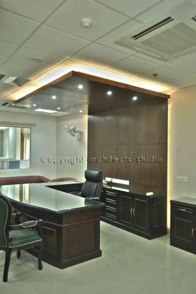 Office Cabin Designed By Architects Studio Architect In Delhi India