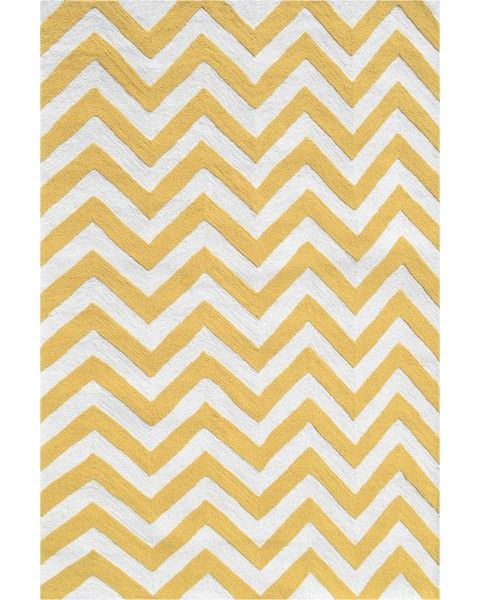 Yellow Chevron Rug I Want This In Babys Room Chevron Rugs