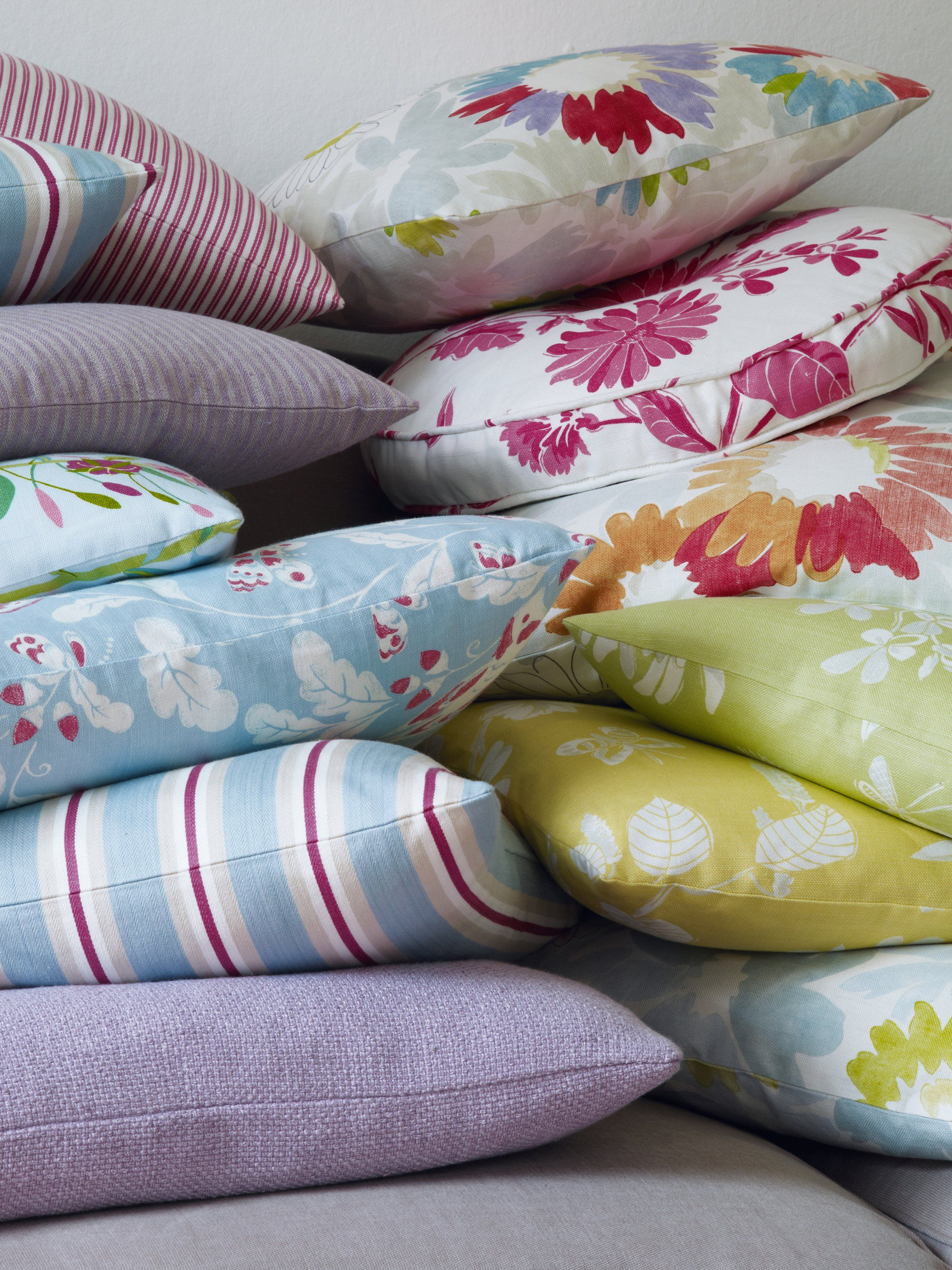 Fabrics from the Brightwood Collection by Jane Churchill