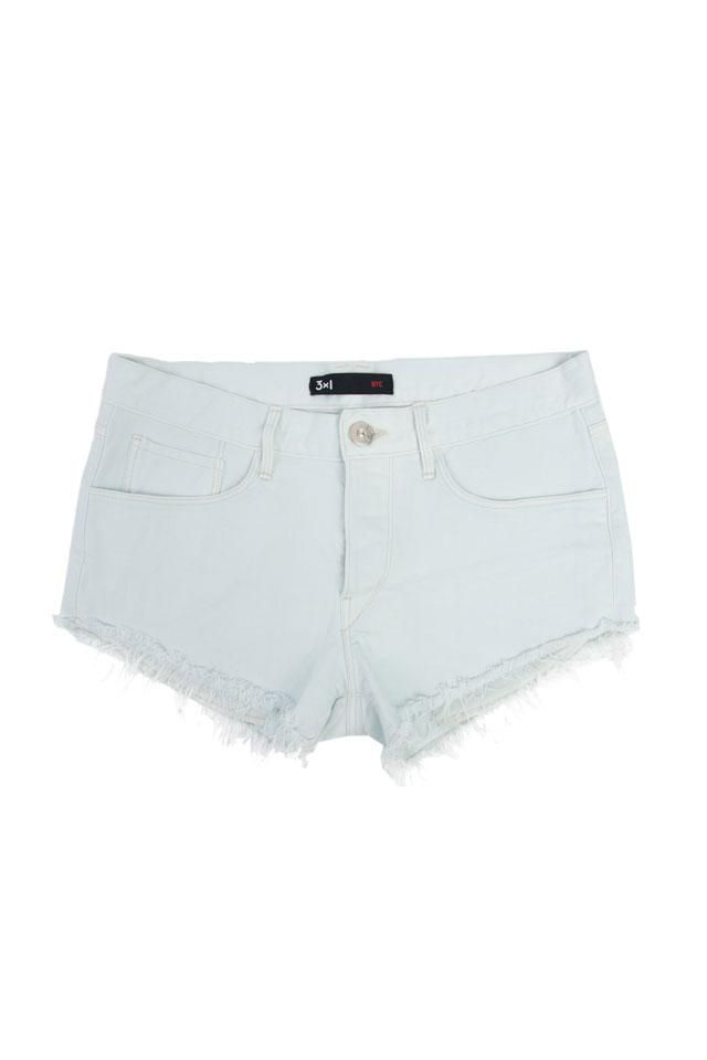 The 3x1 W2 Mid-Rise Cut Off Short in Tide