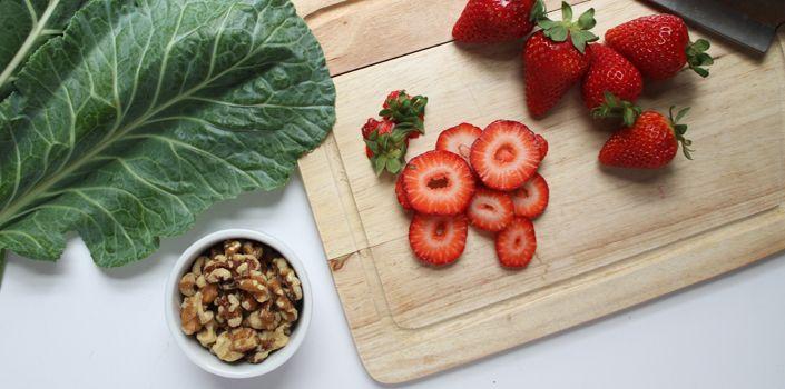 Strawberry Balsamic Wrap -- CHAARG.com