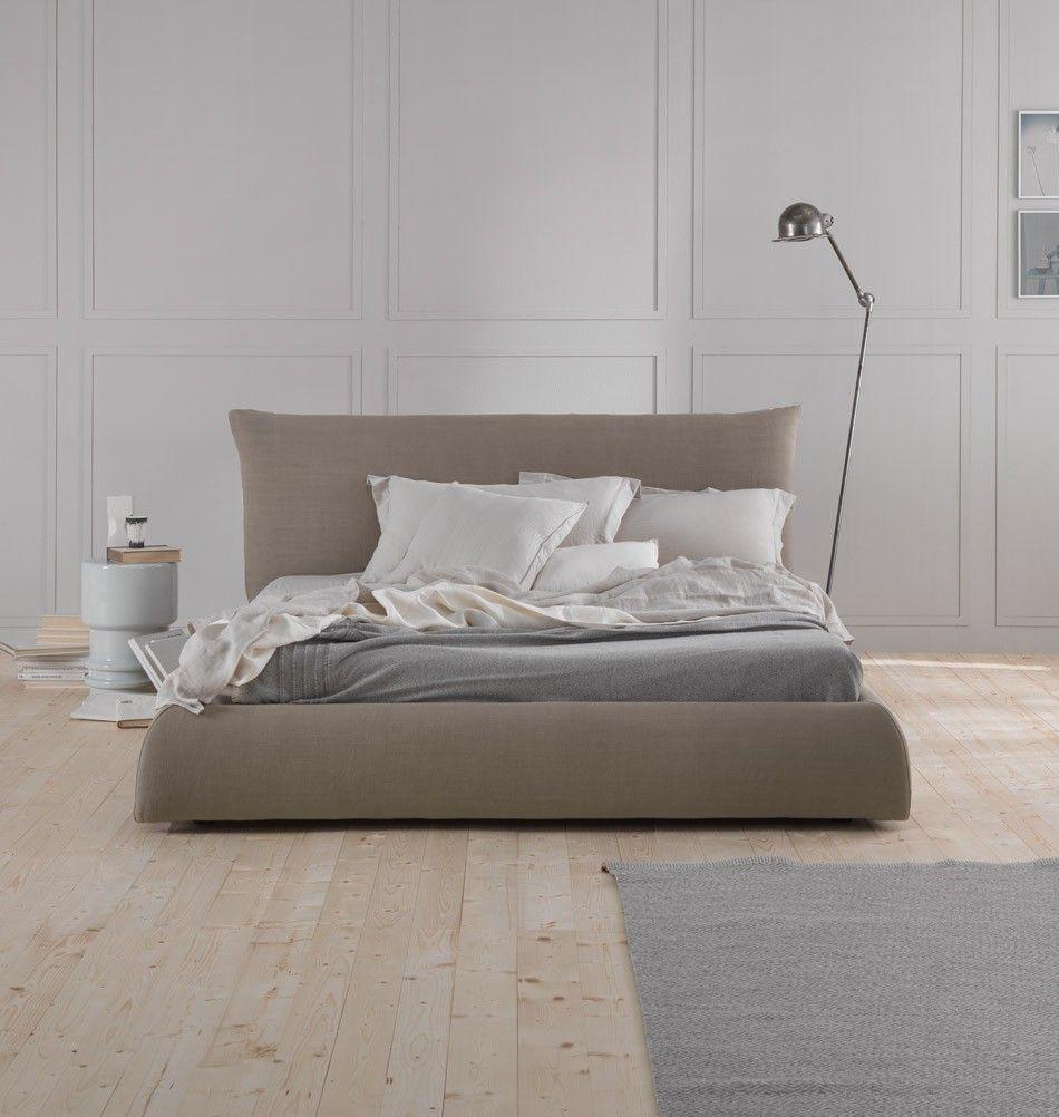 """Boxspringbett """"Pillow"""" Baumwollbezug Bett, Schlafzimmer"""