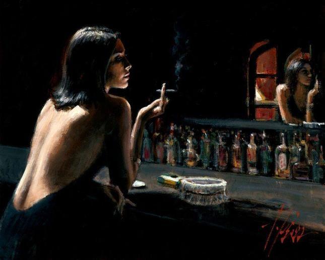 Фабиан Перес (Fabian Perez) е аржентински художник и писател, който става световноизвестен с картините си, нарисувани с акрилни бои, които той обожава, защото бързо изсъхват и му позволяват да следва импулсите си.