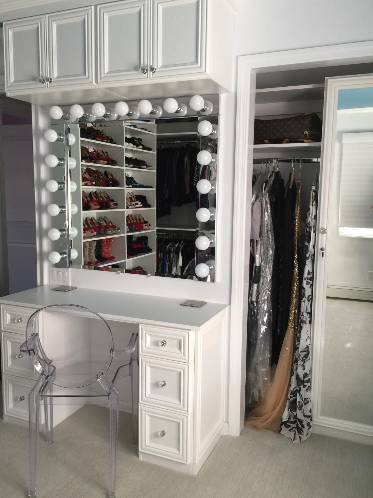 Glamorize Your Vanity Mirror With Hollywood Style Hgtv
