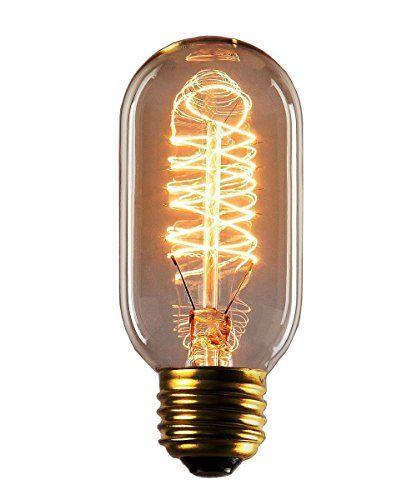 Cmyk Bombilla Edison Vintage Incandescente E27 60w 60mm Https Www Amazon Es Dp B00uv41i92 Ref Cm Sw R Pi Dp X Lhz5 Bombillas Ampolleta Bombillas Vintage