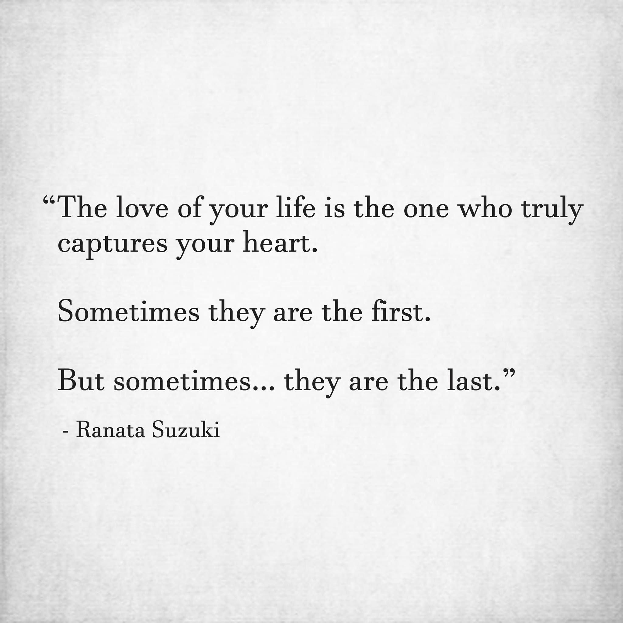 You lost the one that truly loved you