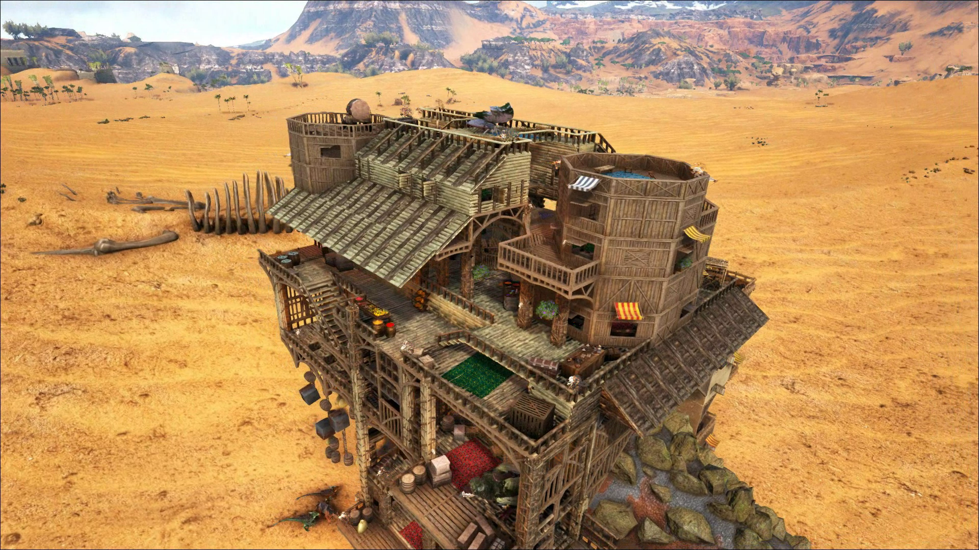 Ark, Titan platform, Nomadic base design, The Desert Trader