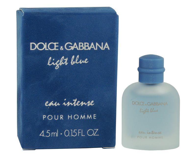 Blue Intense Dolceamp; Light Pour Hommeeau 5ml Gabbana 4 Miniature nXONwk80P