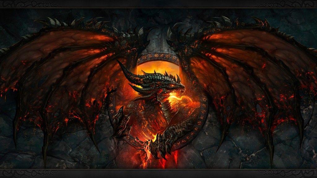 Fantasy Dragon Fire Wallpaper Hd 13 High Resolution Wallpaper World Of Warcraft Wallpaper World Of Warcraft Cataclysm World Of Warcraft