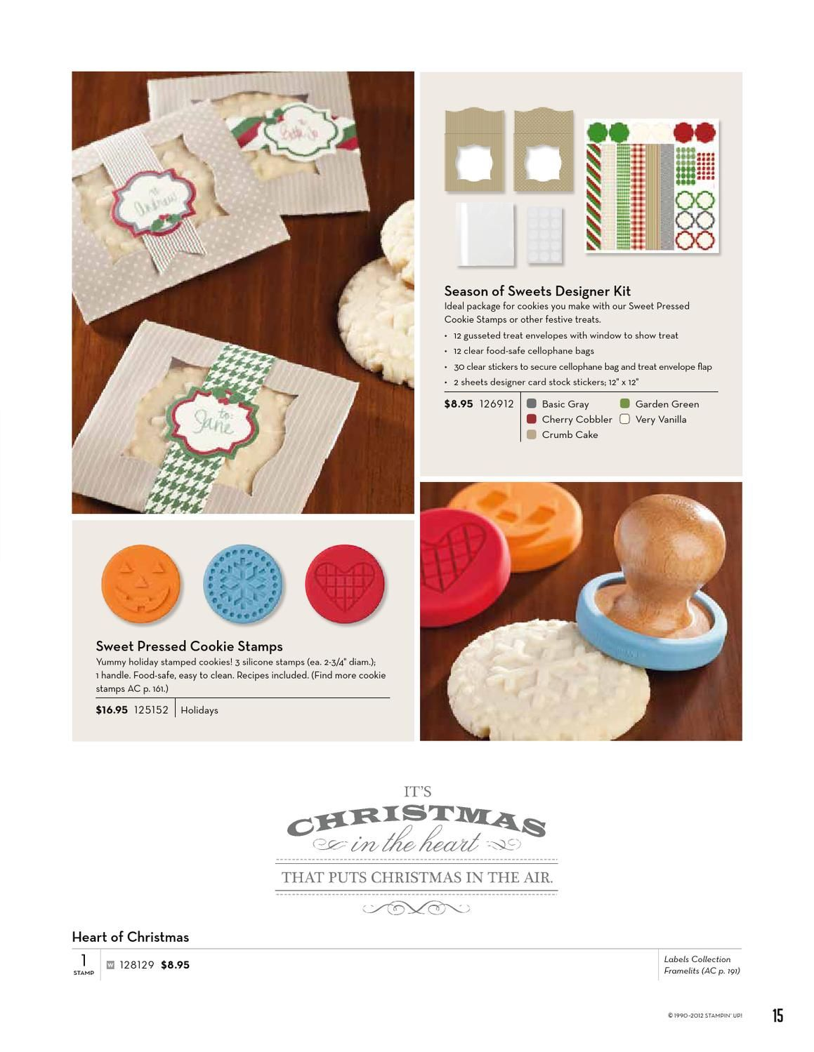 2012 Holiday Catalog by Stampin' Up!