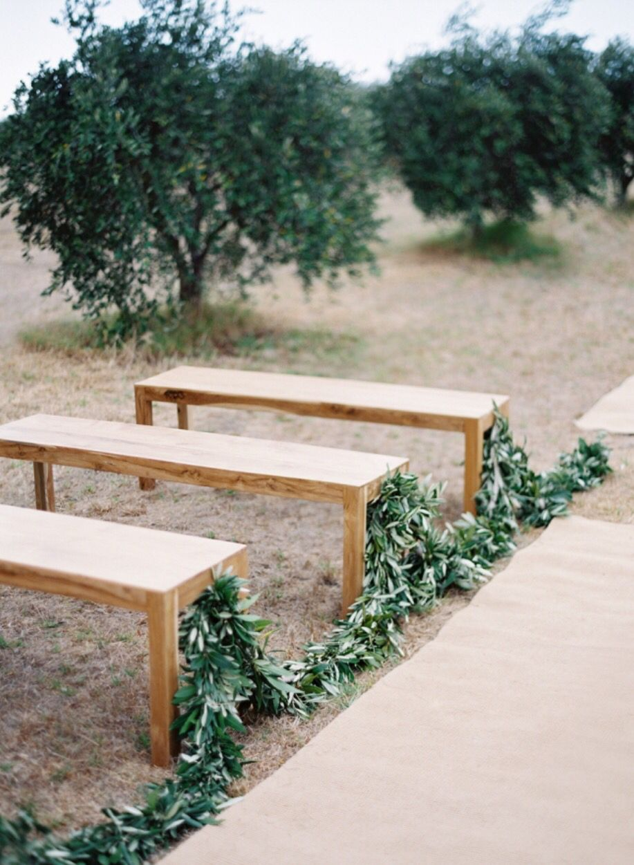 Wooden Benches And Greenery Lined Isle Jute Rugs July