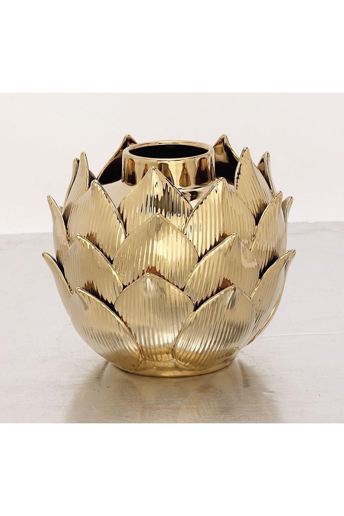Uma gold ceramic vase bed bath room pinterest bath room