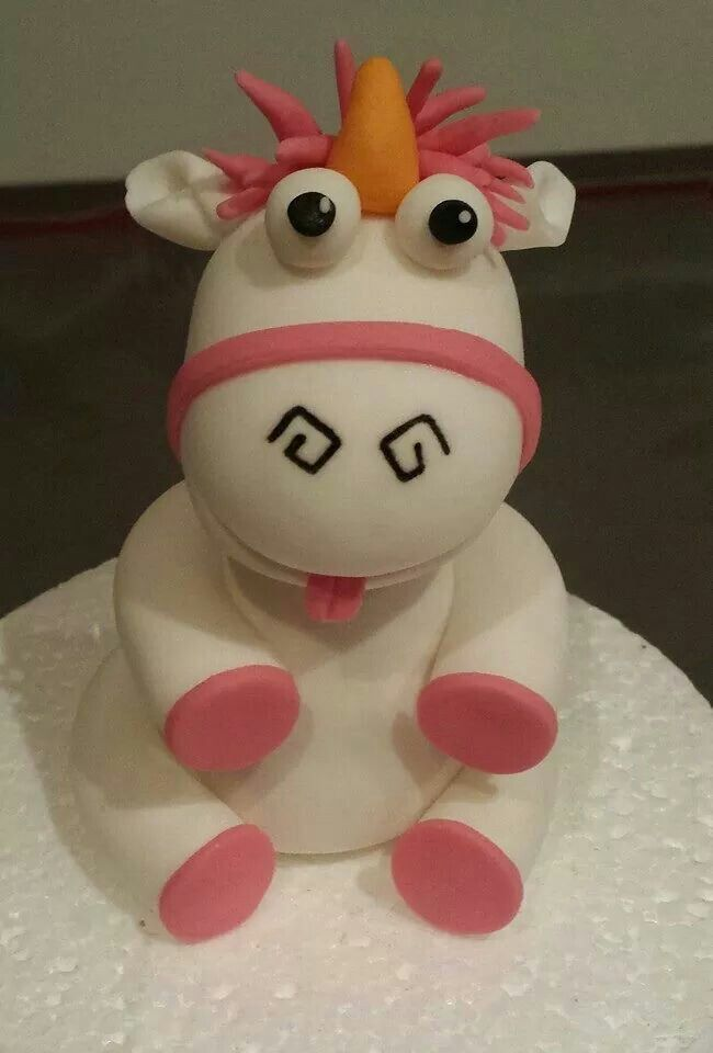 Unicorn from despicable me FONDANT FIGURES Pinterest Unicorns