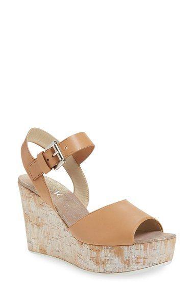 1121afd519d AGL Metallic Cork Wedge Sandal (Women)