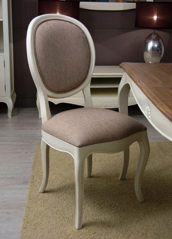 silla de comedor tapizada par s con bord n de bamb blau