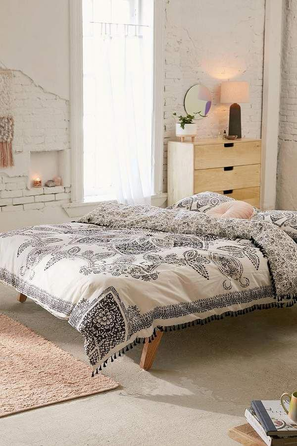 Urban Outfitters Valda Woodblock Medallion Duvet Cover # ...