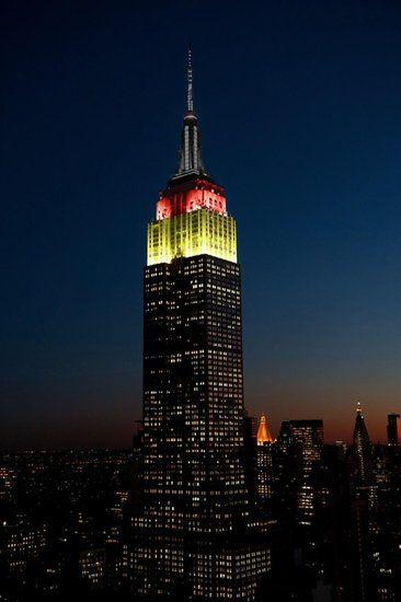 Empire State Building 08 july 2014 Brasil vs Germany 1