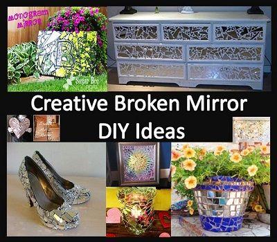 The 25 best broken mirror projects ideas on pinterest for Broken mirror craft ideas