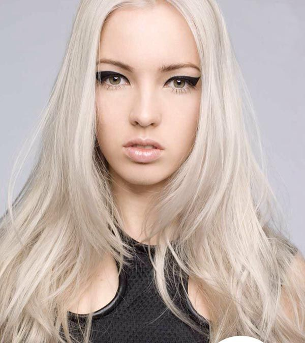 white hairstyles   you are going for a rockin\' good time, check ...