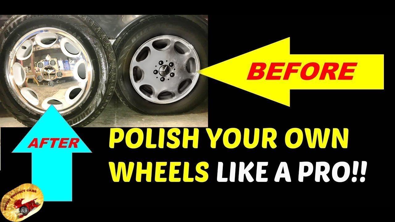How To Polish Aluminum Wheels/Rims to LOOK NEW AGAIN