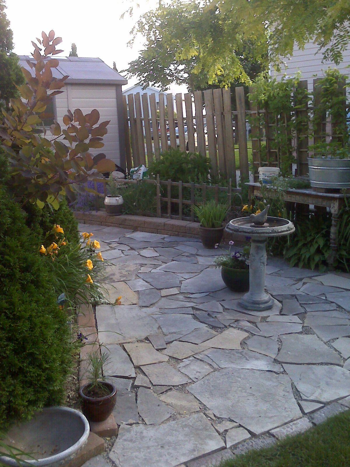 my garden flagstone pathway in my gardens garden on extraordinary garden stone pathway ideas to copy id=25825