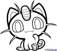 Kawaii Pictures To Color Of Pokemon Google Search Pokemon Coloring Pages Pokemon Coloring Coloring Pages