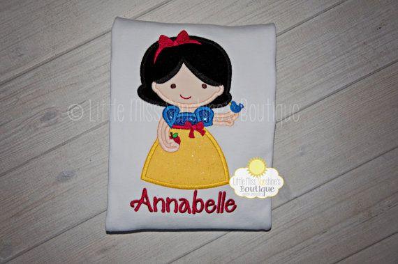 Snow White Shirt Snow White Birthday Snow by LittleMissSunshinesB