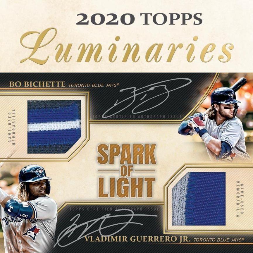 2020 topps luminaries baseball checklist set info boxes