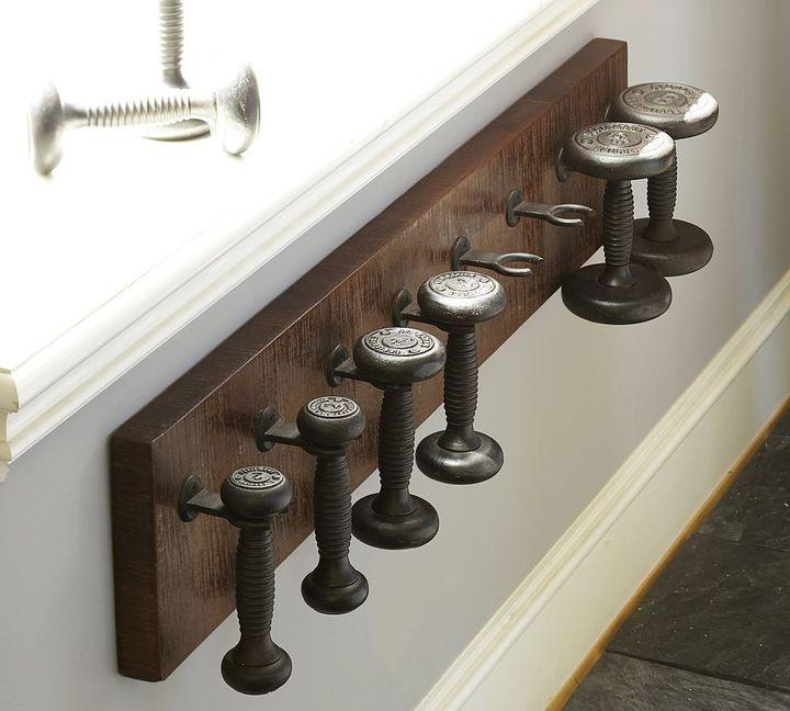 Home Gym Storage Ideas: Stylish Barbells With Storage Solution
