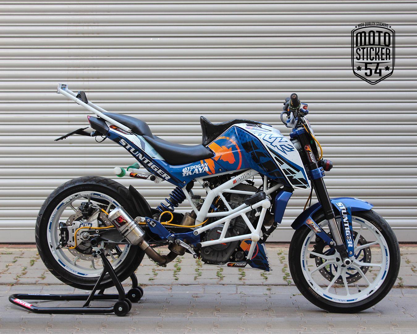 Ktm Duke 200 Aydogan Kaya Custom Design Sticker Kit