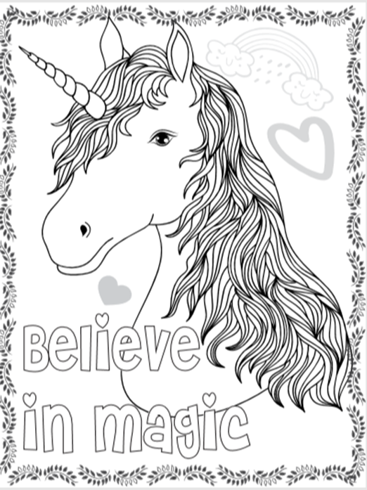 Great Photo Of Unicorn Coloring Pages For Kids Unicorn Coloring Pages Baby Coloring Pages Coloring Pages