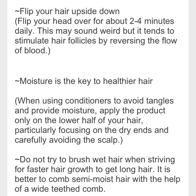 How to make your hair grow faster Good info Pinterest Miten - example of artist resume