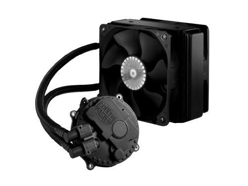 Cooler Master Seidon 120xl Liquid Cpu Water Cooling System With Copper Heatsink And 120mm Radiator 2 Fans By Cooler Master Cooler Master Water Cooling Cooler