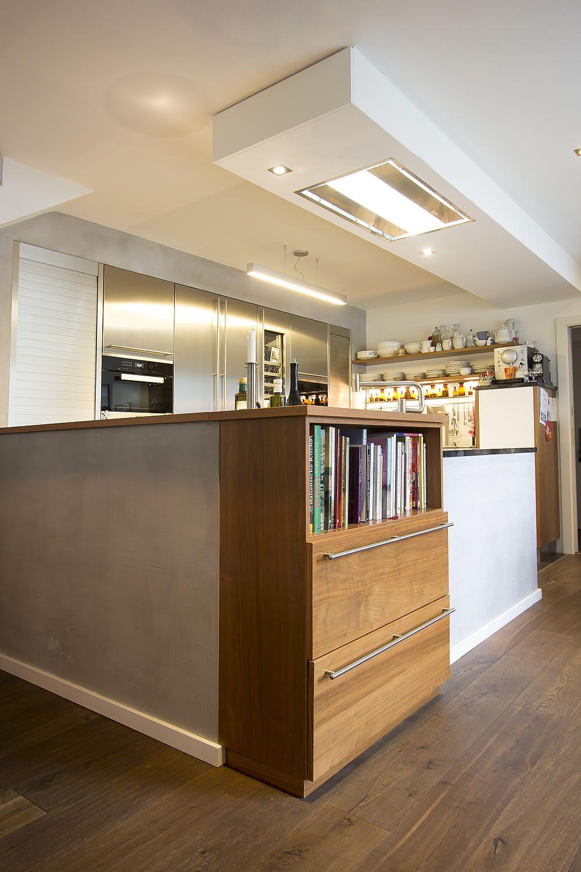 Küche Edelstahl mit Weinklimaschrank | KITCHEN | Pinterest | Kitchens