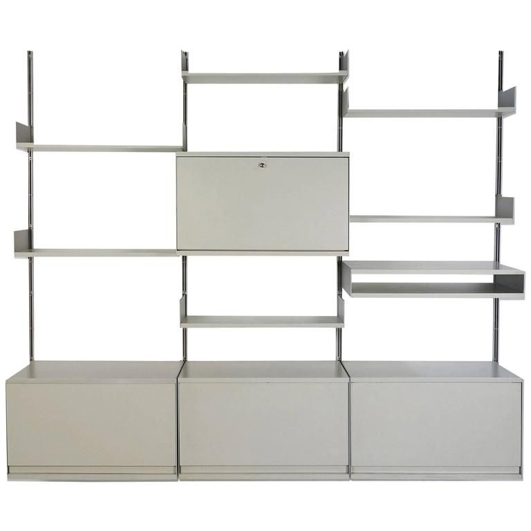 System 606 Wall Unit From The 1960s By Dieter Rams For Vitsoe From A Unique Collection Of Antique And Modern Shelves At Ht Shelves Vintage Shelf Modern Shelf